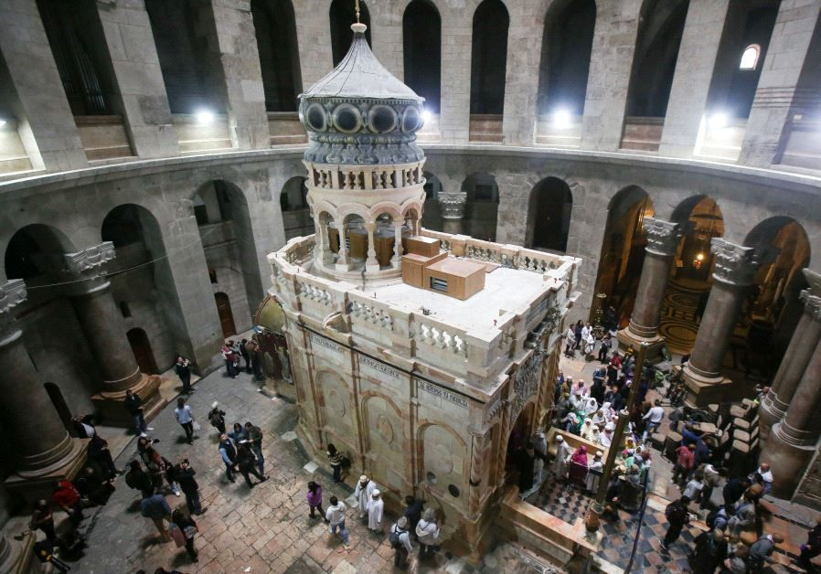 1. Holy Sepulchre, Jerusalem.jpg